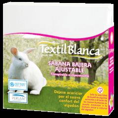 textil blanca sabana bajera